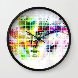 2 perspectives Wall Clock