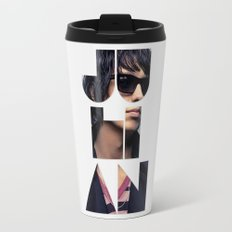 Julian Casablancas The Strokes Font Sunglasses Travel Mug