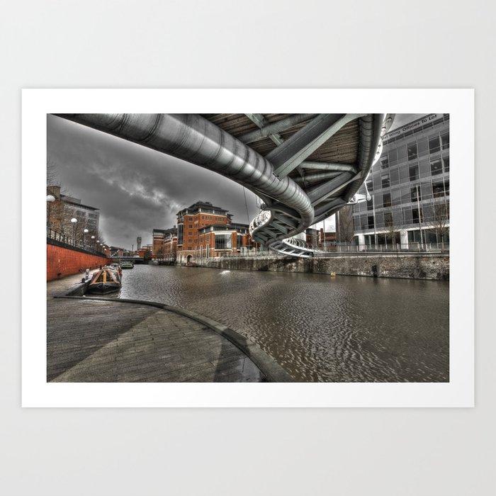 Temple Quays  Art Print