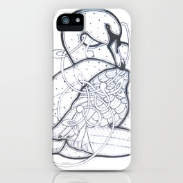 Carrick Swan iPhone Case