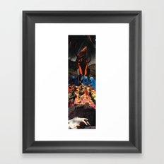 Makak Framed Art Print