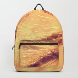 Summer romance in the grain field Backpack