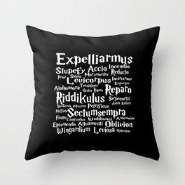 Spells Throw Pillow