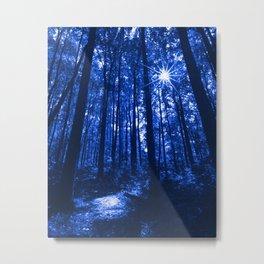 Shenandoah Blue Metal Print