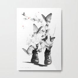 Invation Metal Print