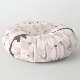 Alice's Tea Party Floor Pillow