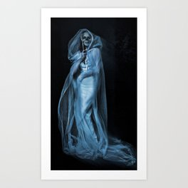 Death Becomes Her Art Print