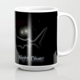 Night Diver Coffee Mug