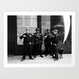 NYC Police Art Print