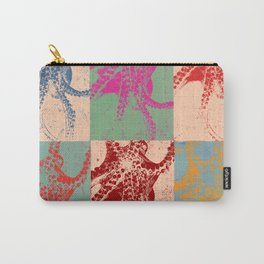 Popart Octopus Carry-All Pouch