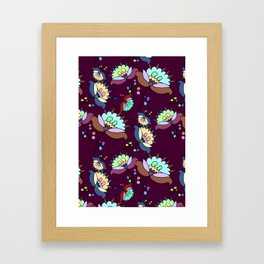 Floral Pattern #3 Framed Art Print