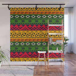 African pattern No3 Wall Mural