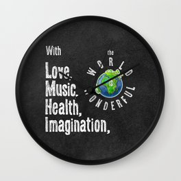 Quote 1 Wall Clock