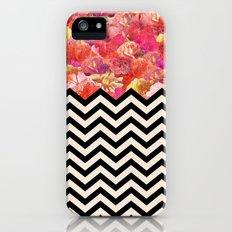 Chevron Flora Slim Case iPhone (5, 5s)