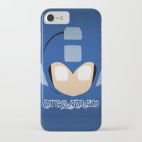 mega man iPhone & iPod Cases featuring Mega Man by Sport_Designs
