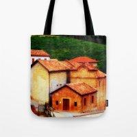italian Tote Bags featuring ✔️Italian Farmhouse by Nadia Bonello - Trū Artwear