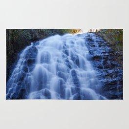 Crabtree Falls at Golden Hour Rug