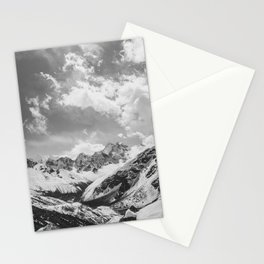 Everest base camp Stationery Cards