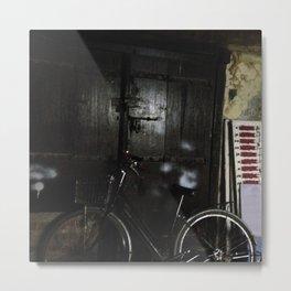 #283 A street still-life in Stone Town Metal Print