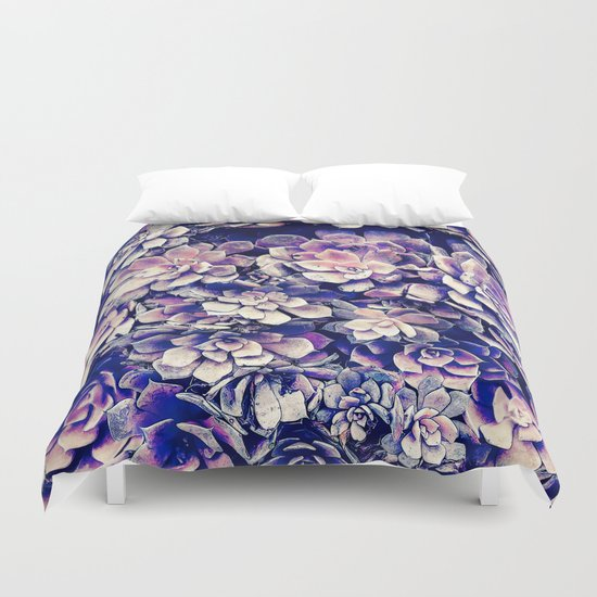 Garden Plants Duvet Cover