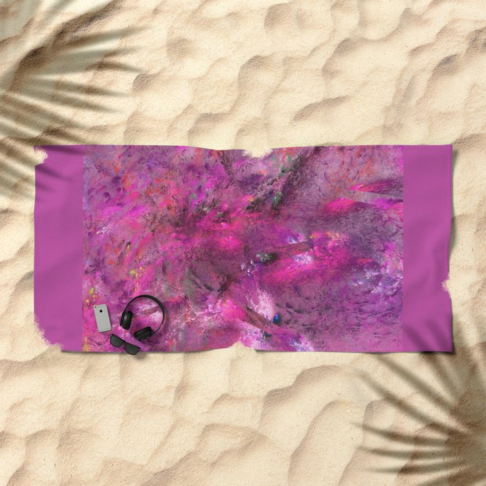 Free Mind Beach Towel