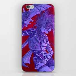 Raised by bats iPhone Skin