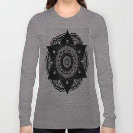 Flower Mandala Number 2 Long Sleeve T-shirt
