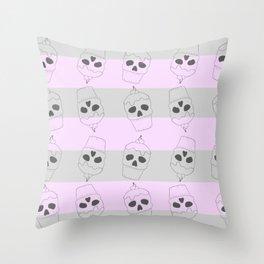 Skullcake Throw Pillow