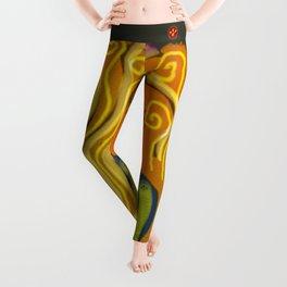 Enigmatic Woman Leggings