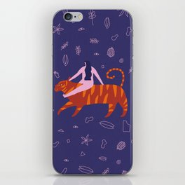 Night safari poster iPhone Skin