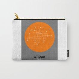 Ottawa Orange Subway Map Carry-All Pouch