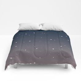 Keep On Shining - Peaceful Dusk Comforters