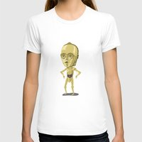 c3po T-shirts featuring C3PO by Rod Perich