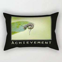 Inspiring Achievement Rectangular Pillow