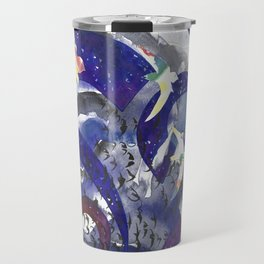 Swirling Swift Sky Travel Mug