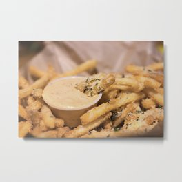 A Side of Fries Metal Print