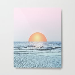 Untypical sunset II Metal Print