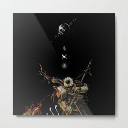 "Ellis -""Bug Hunt"" (Print) Metal Print"