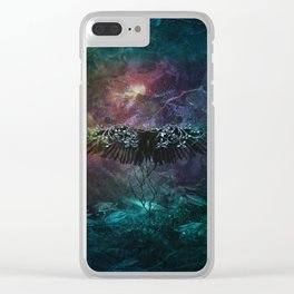 Unknown feelings Clear iPhone Case