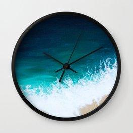 Sea Below Wall Clock