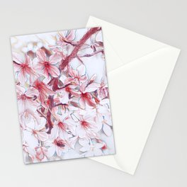 Delicate Floral 118 Stationery Cards