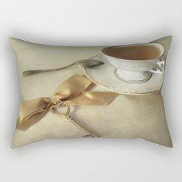 Golden Key Rectangular Pillow