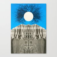 mythology Canvas Prints featuring Mythology by 松本 ナオヤ [Naoya Matsumoto]