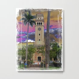 University of Puerto Rico - Main tower Rio Piedras Metal Print