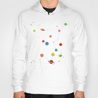 planets Hoodies featuring Planets by camilla falsini