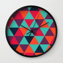 Crystal Smoothie Wall Clock