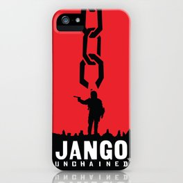 Jango Unchained iPhone Case