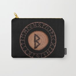 Berkano Elder Futhark Rune secrecy, silence, safety, mature wisdom, dependence, female fertility Carry-All Pouch