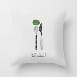Sprout Sprout Throw Pillow