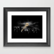 Calling Out Framed Art Print